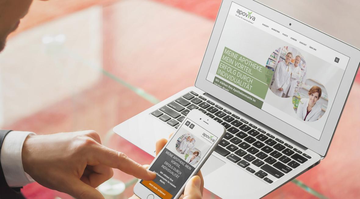 apoviva stärkt die Apothekenmarke im lokalen Markt