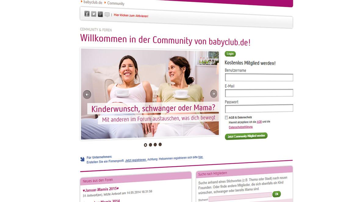 In der Community können sich die Nutzer austauschen und eigene Profile anlegen und verwalten