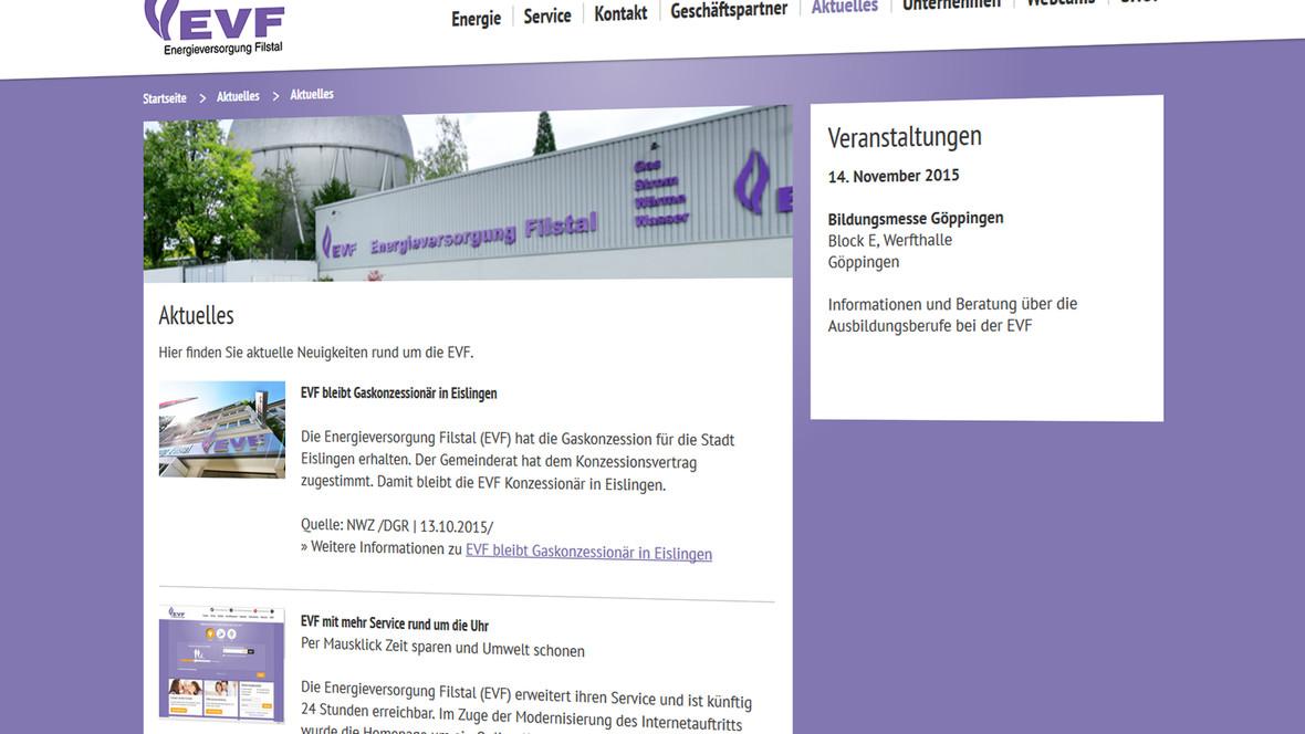 Das News-Modul bietet eine einfach Möglickeit den Besuchern aktuelle Informationen bereit zu stellen