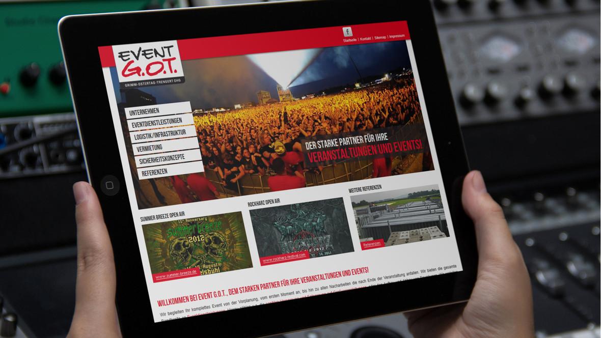 EVENT G.O.T., der starke Partner für Ihre Veranstaltungen und Events!