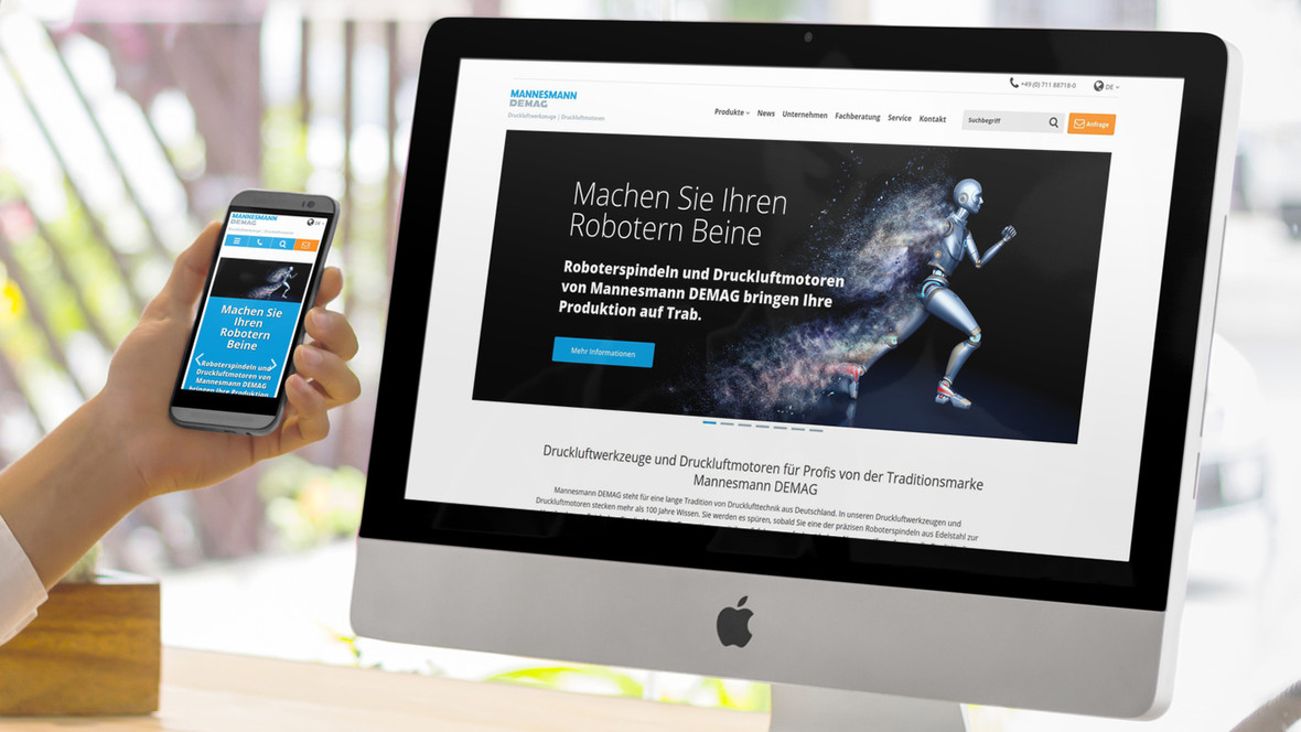Druckluftmaschinen und Druckluftmotoren von MD Drucklufttechnik GmbH & Co. KG