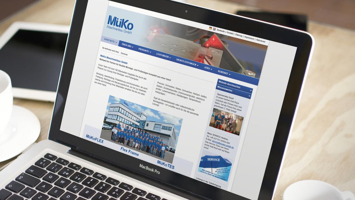 Müko Maschinenbau GmbH - Partner für flexible Montage- und Prüfanlagen komplett aus einer Hand