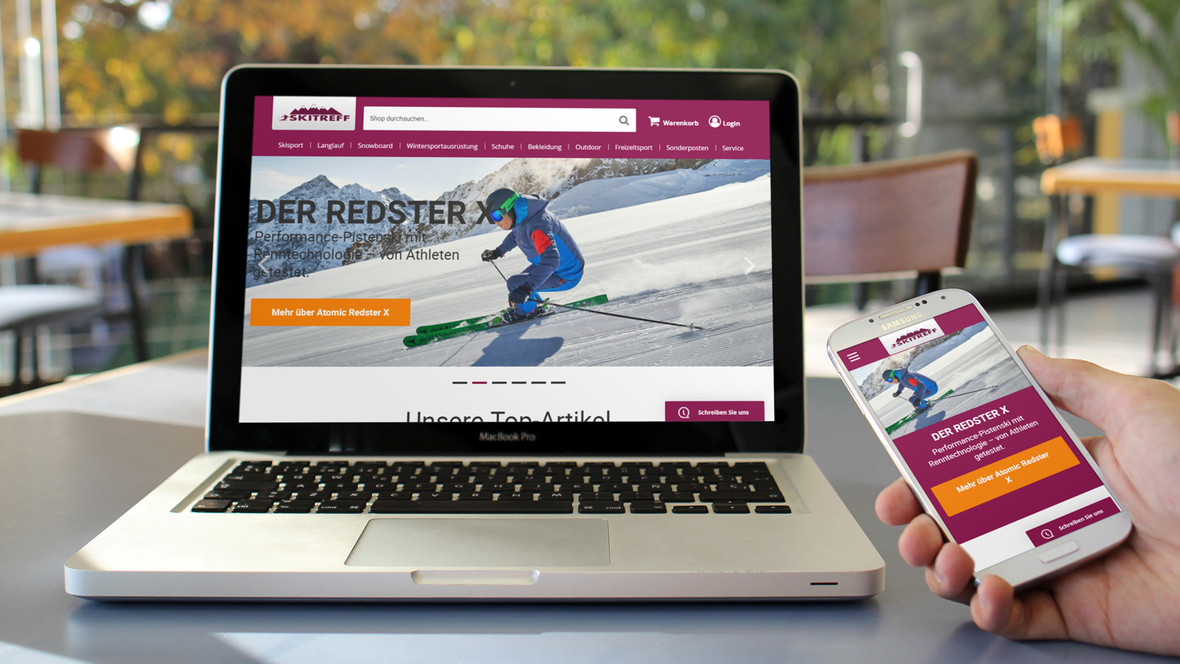Ski-Sport + Berg-Sport Online-Shop