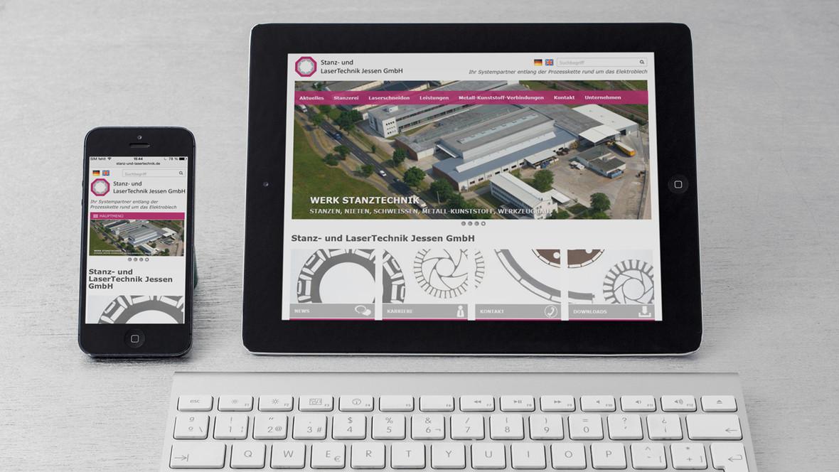 Die Stanz- und LaserTechnik Jessen GmbH ist Experte für die Verarbeitung von Elektroblech.