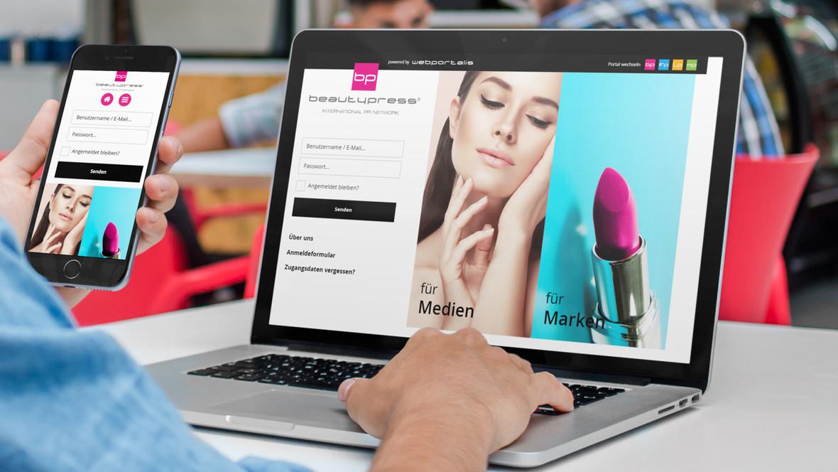 Das grösste Presseportal für Beauty-Journalisten