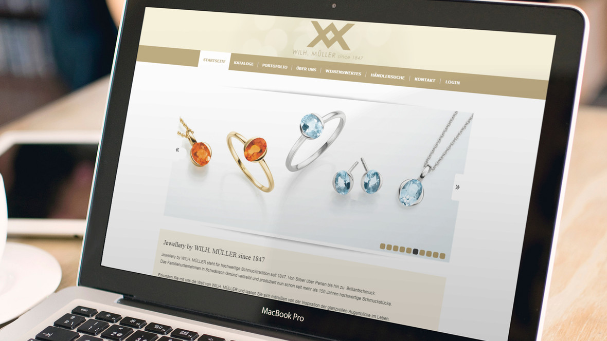 Jewellery by WILH. MÜLLER since 1847